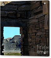 Ghost House In The Desert Acrylic Print