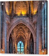Ghost In The Cathedral Acrylic Print by Adrian Evans