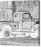 Ghost Of A Truck Acrylic Print