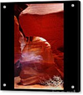 Ghost of Antelope Canyon Acrylic Print