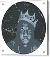 Ghost Of Biggie Acrylic Print