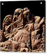 Ghost Rocks Or Ghosts Rock Acrylic Print