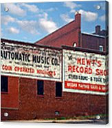 Ghost Sign. Clarksville Tennessee  Acrylic Print