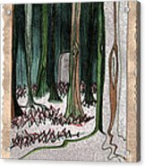 Ghost Stories Forest Graveyard By Jrr Acrylic Print
