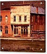 Ghost Town Bodie California Acrylic Print