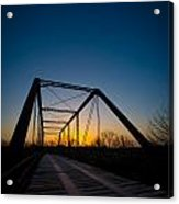 Ghost Town Bridge Acrylic Print