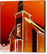 Ghost Town Church Acrylic Print