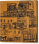 Ghost Town Acrylic Print