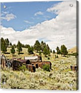 Ghost Town In Summer Acrylic Print