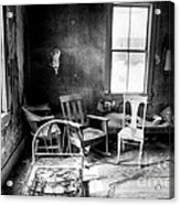 Ghost Town Still Life I Acrylic Print by George Oze
