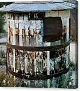 Ghost Town Water Tank Acrylic Print