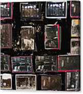 Ghost Towns Collage 1967-2012 Acrylic Print