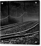 Ghost Tracks Acrylic Print