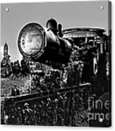 Ghost Train In Paranapiacaba - Locobreque Acrylic Print