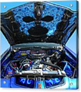 Ghost Under The Hood Acrylic Print