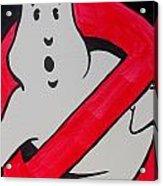 Ghostbuster Acrylic Print