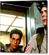 Ghostbusters Acrylic Print by Paul Tagliamonte