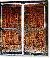 Ghostly Doors By Diana Sainz Acrylic Print