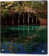 Ghostly Quiet Acrylic Print