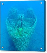 Ghostly Ship Wreck Acrylic Print