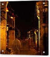 Ghostly Street Acrylic Print