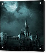 Ghosts In The Empty Town Acrylic Print