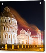 Ghosts Of Piazza Del Duomo Acrylic Print