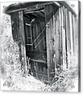 Ghosts Of The Outhouse Rocky Mountains Acrylic Print