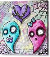 Ghoulfriends Acrylic Print