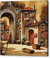 Giallo Acrylic Print