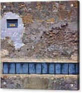 Giannini's Wall Acrylic Print