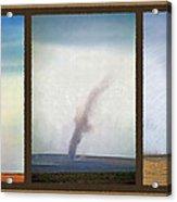 Giant Dust Devil Triptych Acrylic Print