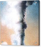 Giant Geyser Yellowstone Np  Acrylic Print
