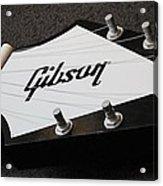 Giant Gibson Guitar Acrylic Print