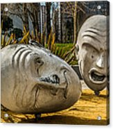 Giant Heads Acrylic Print