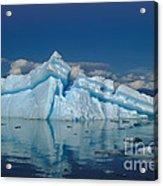 Giant Ice Floes Acrylic Print