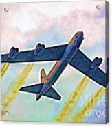 Giant In The Sky-digital Art Acrylic Print
