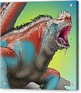 Giant Marine Iguana Acrylic Print