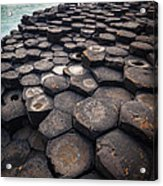 Giant's Causeway Pillars Acrylic Print