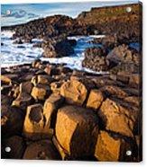 Giant's Causeway Surf Acrylic Print