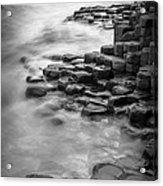 Giant's Causeway Waves  Acrylic Print