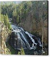 Gibbon River And Falls Acrylic Print