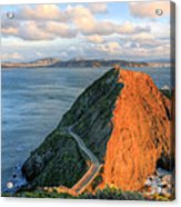 Gibraltar Acrylic Print by JC Findley