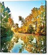 Gibralter Mi Waterway Acrylic Print