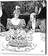 Gibson: Dinner Party Acrylic Print