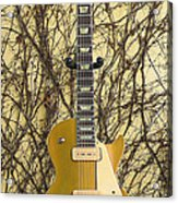 Gibson Les Paul Gold Top '56 Guitar Acrylic Print