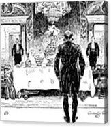 Gibson: Lucky Rich, 1896 Acrylic Print