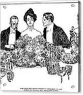 Gibson: Retirement, 1900 Acrylic Print
