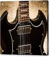 Gibson Sg Standard Brick Acrylic Print