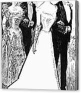 Gibson: The Debutante, 1899 Acrylic Print